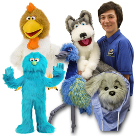 Full Body Animal Puppets
