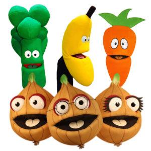 Fruit & Veg Puppets
