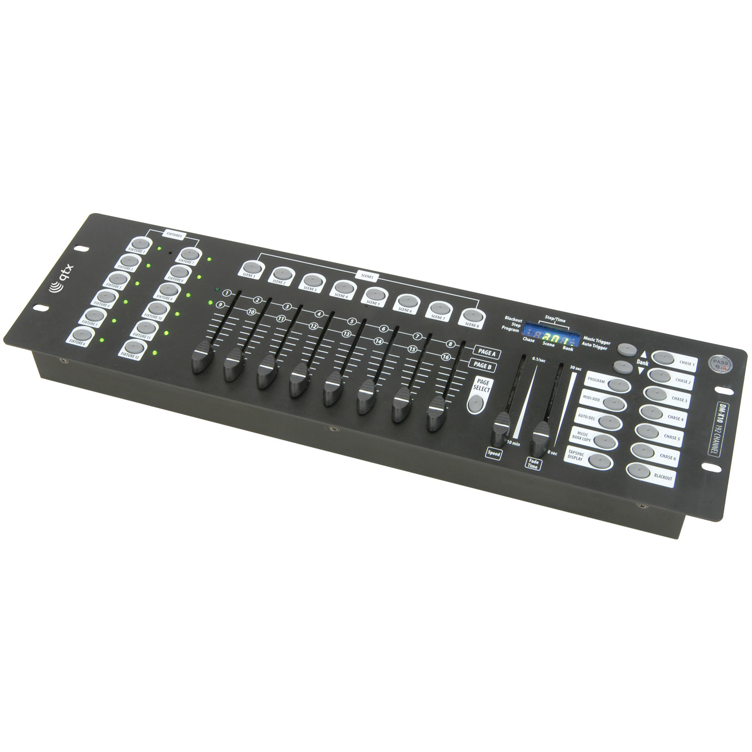 192 channel dmx lighting controller one way uk. Black Bedroom Furniture Sets. Home Design Ideas