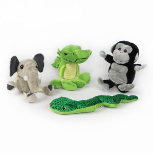 Down in the Jungle Finger Puppets