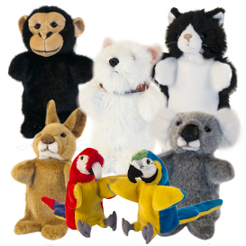 Small & Finger Animal Puppets