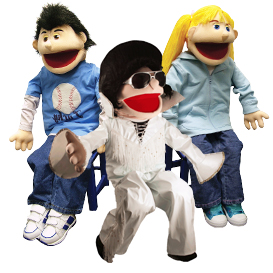Full Body People Puppets