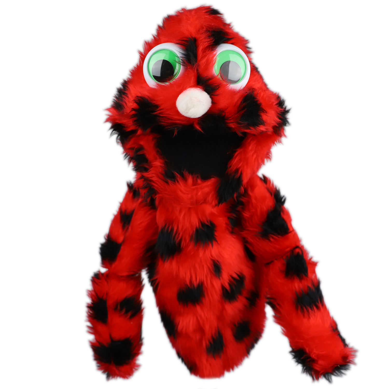Furzle Medium Puppet - Ladybird - One Way UK