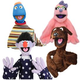 Human Arm Puppets