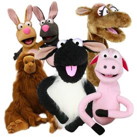 Large Animal Puppets