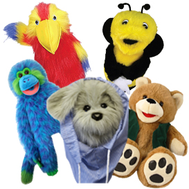 Medium Animal Puppets