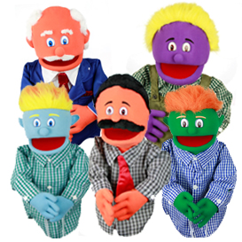 Medium People Puppets