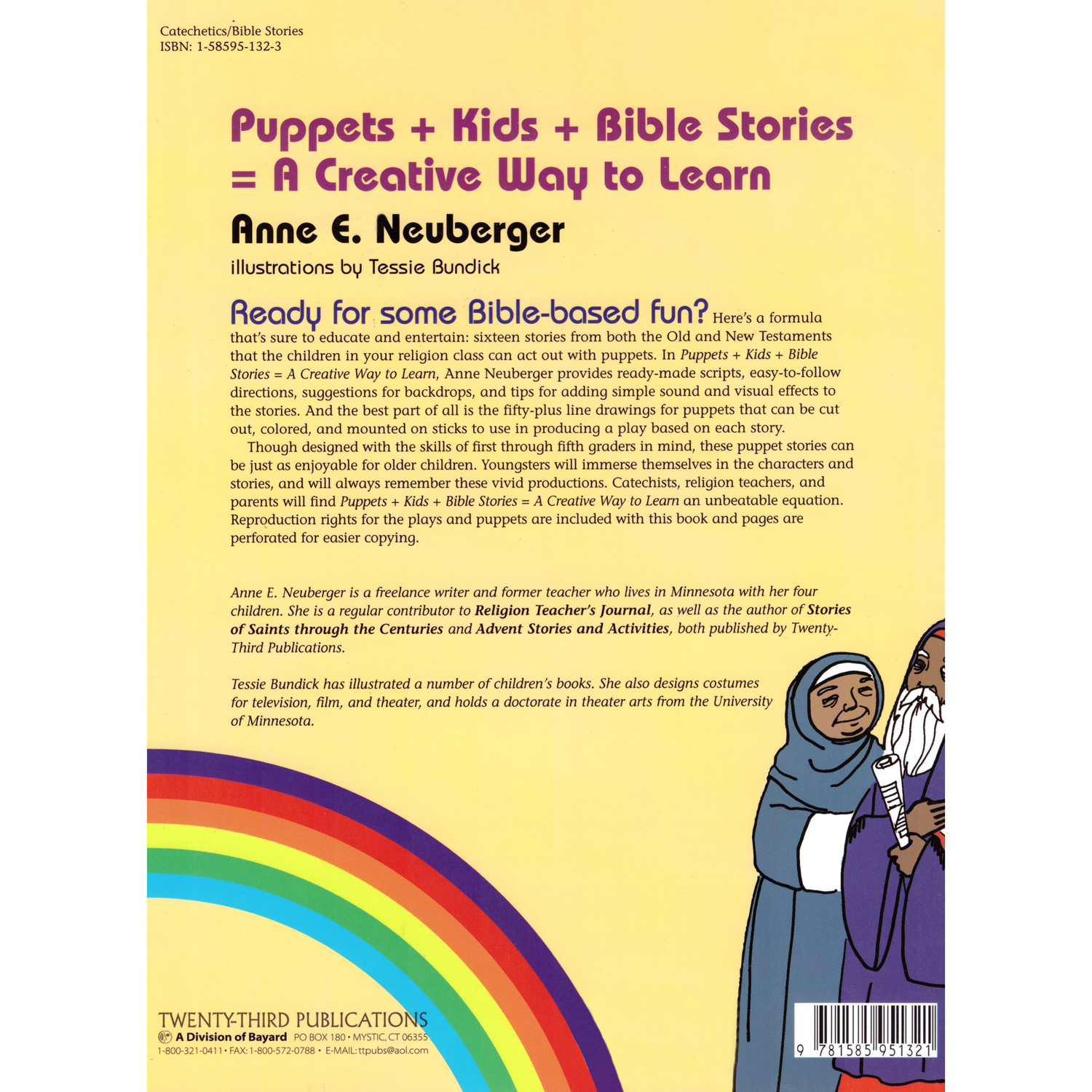 Puppets + Kids + Bible Stories = A Creative Way to Learn
