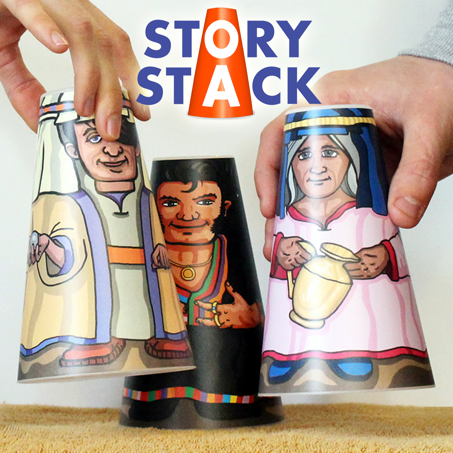 Storystack - Bible Storytelling Characters
