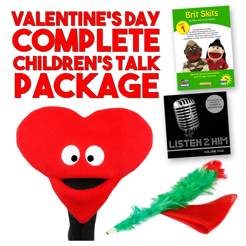 Valentine's Day/Love - COMPLETE Children's Talk Package